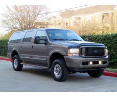 2003 Ford Excursion 4x4 DIESEL!