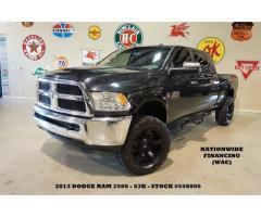 2013 Dodge Ram 2500 SLT 4X4 DIESEL,AUTO,BLK XD WHLS,53K,