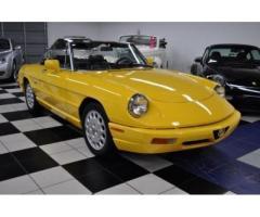 1992 Alfa Romeo Spider ONLY 2,926 MILES!!!